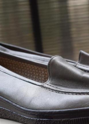 Туфли лоферы мокасины на танкетке gabor lady германия р.4 полнота g на широкую