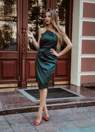 Стильное корсетное платье3 фото