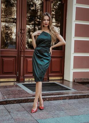 Стильное корсетное платье1 фото