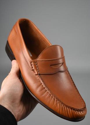 Мужские туфли классические италия кожа