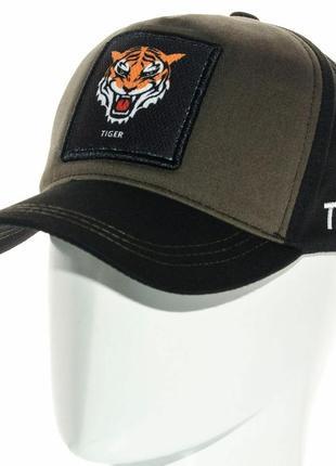 Модная бейсболка кепка с животным с нашивкой tiger тигра мужская женская