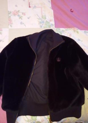 Курточка меховая adidas