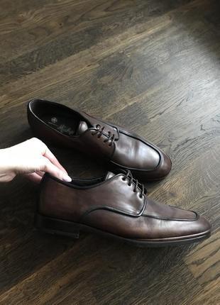 Мужские кожаные туфли, испанский бренд
