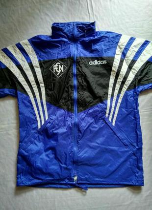 Дождевик adidas оригинал ветровка куртка для спорта размер 46-48