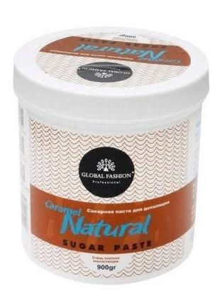 Сахарная паста для шугаринга 900мл caramel