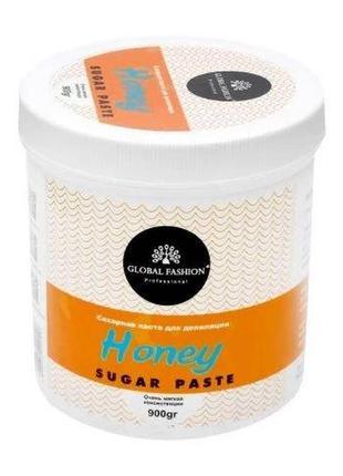 Сахарная паста для шугаринга 900мл honey