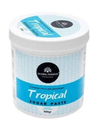 Сахарная паста для шугаринга 900мл tropica