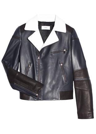 Кожаная куртка косуха zapa (франция)