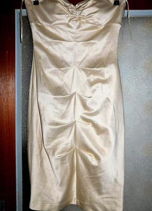 Платье нарядное, платье футляр с драпировкой, pretty woman, покупали в чехии