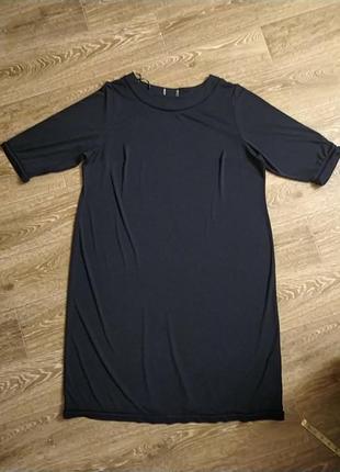 Батал большой размер шикарное красивое стильное чёрное платье плаття чорна сукня