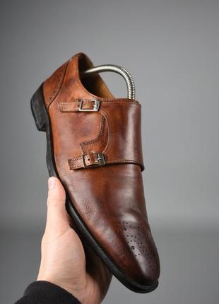 Мужские туфли монки немецкого премиум класса melvin & hamilton original