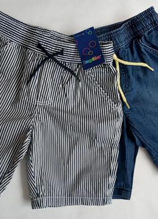 Стильні шорти в полоску lupilu