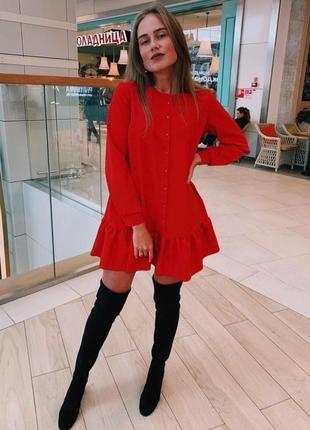Платье женское, платье красное, платье белое