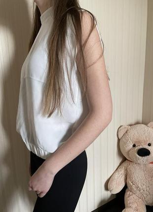 Белая блузка4 фото