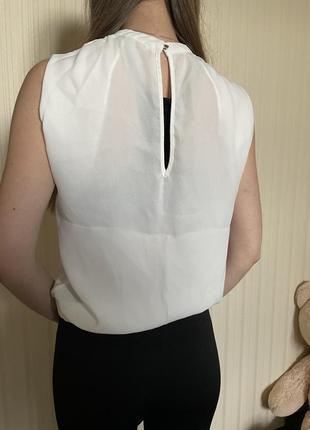 Белая блузка5 фото