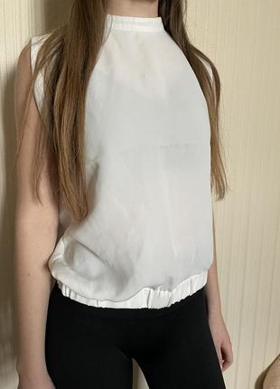 Белая блузка2 фото