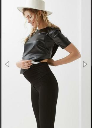 Лосины для беременных брюки для беременных легенсы dianora