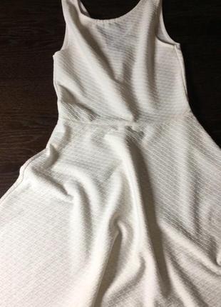 Біленьке плаття h&m