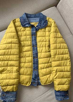 Куртка на синтепоне размер 48-50