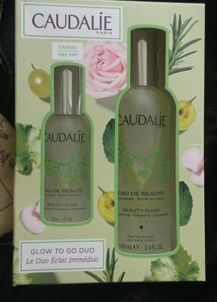 Эликсир-вода для красоты лица caudalie beauty elixir, 100мл +30 мл