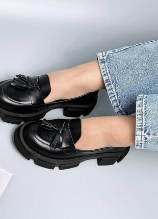 Лофери лоферы туфли кожаные