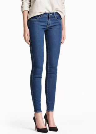 Новые джинсы hm скинни 28 размер