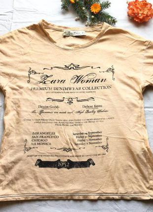Брендовая футболка оригинал с принтом лейбла сток бренд тренд акция