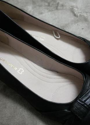 Туфли,мокасины,балетки кожаные  жен. 39-39.5-40 р.next ,бангладеш1 фото