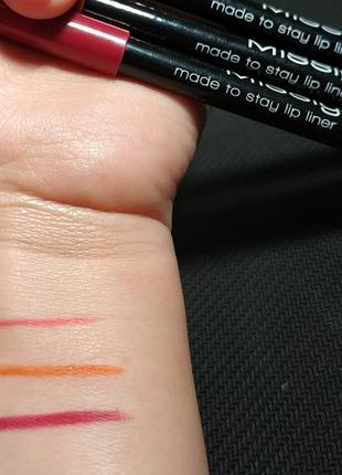 Карандаш misslyn made to stay lip liner