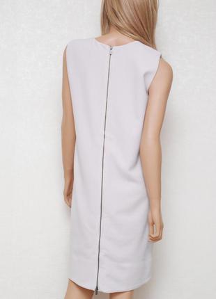 Оригинальное платье с молнией сзади дымчато-лилового цвета next tailoring 8-10uk