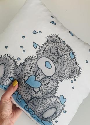Декоративная текстильная подушка teddy