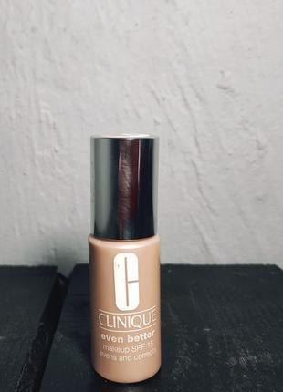 Тональный крем clinique even better makeup spf 15