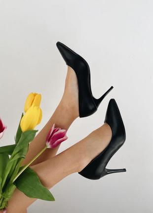 Лодочки на удобном каблуке
