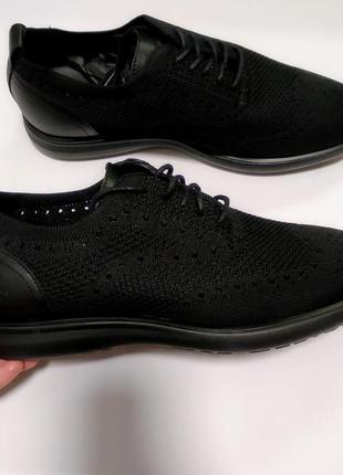 Дышащие летние туфли оксфорды привезены из сша 42 43
