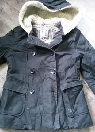 Стильная теплая куртка пальто  классика 10 13 лет
