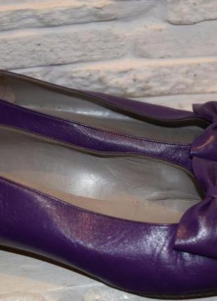 Туфли лодочки кожаные балетки christian dior cd р.38 стелька 25 оригинал идеал