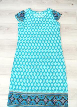 Легкое летнее платье из штапеля
