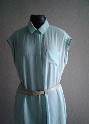 Бирюзовая блуза размер 18