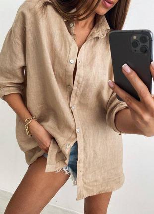 Рубашка .. лён