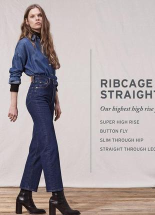 Новые джинсы прямого кроя джинси плотные