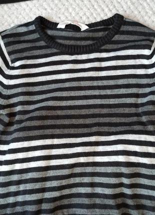 Тоненький свитер от h&m, размер 110/116
