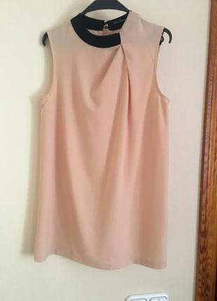 Удлиненная персиковая блуза kira plastinina