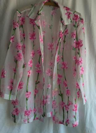 Красивая фирменная блуза
