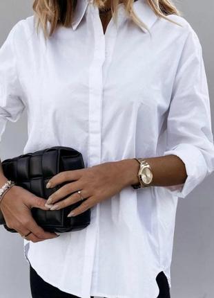 Рубашка белая женская