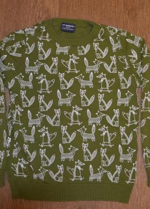 Свитер джемпер свитерок lc waikiki 100 - 116 5 - 6 лет