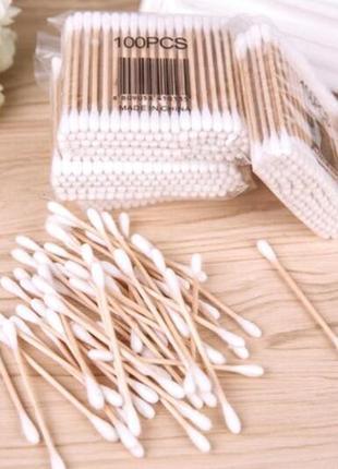 Вушні ватні палички бамбуковые вушные палочки ватные палочки