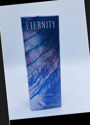 Calvin klein оригинал eternity summer духи 100 мл туалетная вода купила в италии