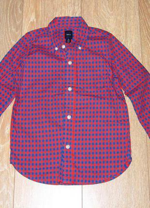 Яркая рубашка на 5-6 лет