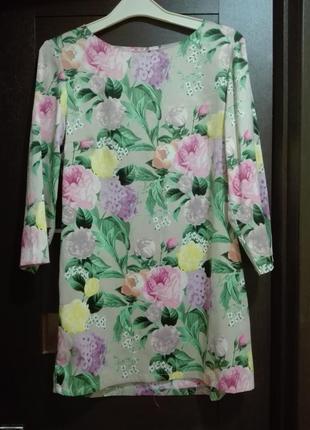 Платье туника h&m р. 10