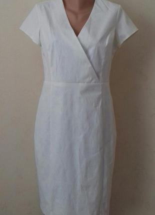 Новое элегантное кремовое платье